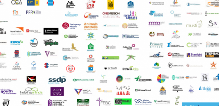List of logos of organisations who are signatories of our Fix Fundraising campaign