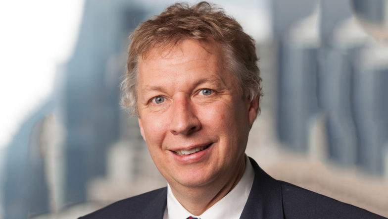 Photograph of Justice Connect Board Member Richard Wilson