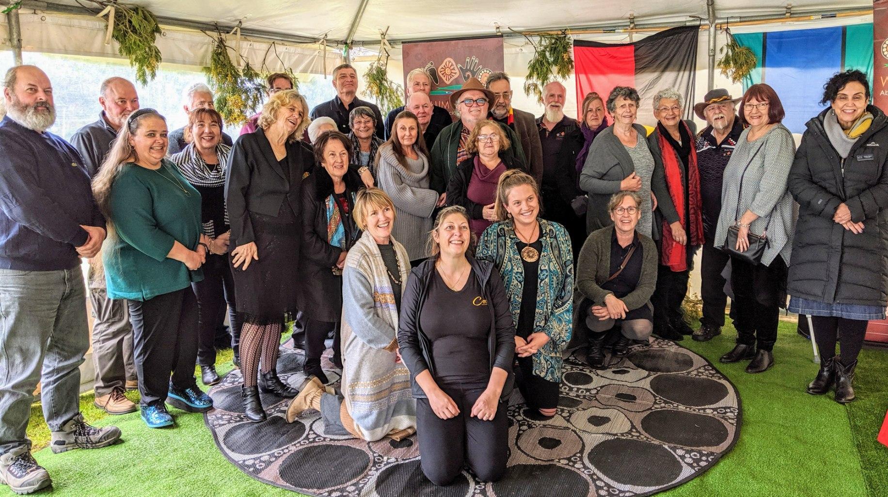 Elders group from the Local Aboriginal Land Coucil, Willum Warrain.